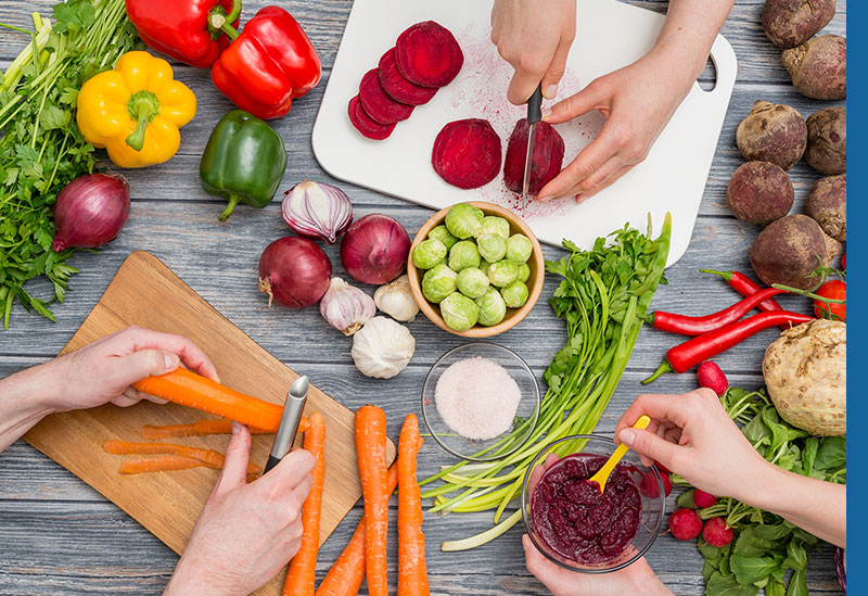 Health foods for assisted living dietary needs